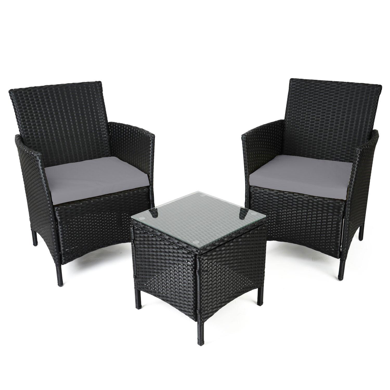 Image of Christow Rattan Table & Chairs Set
