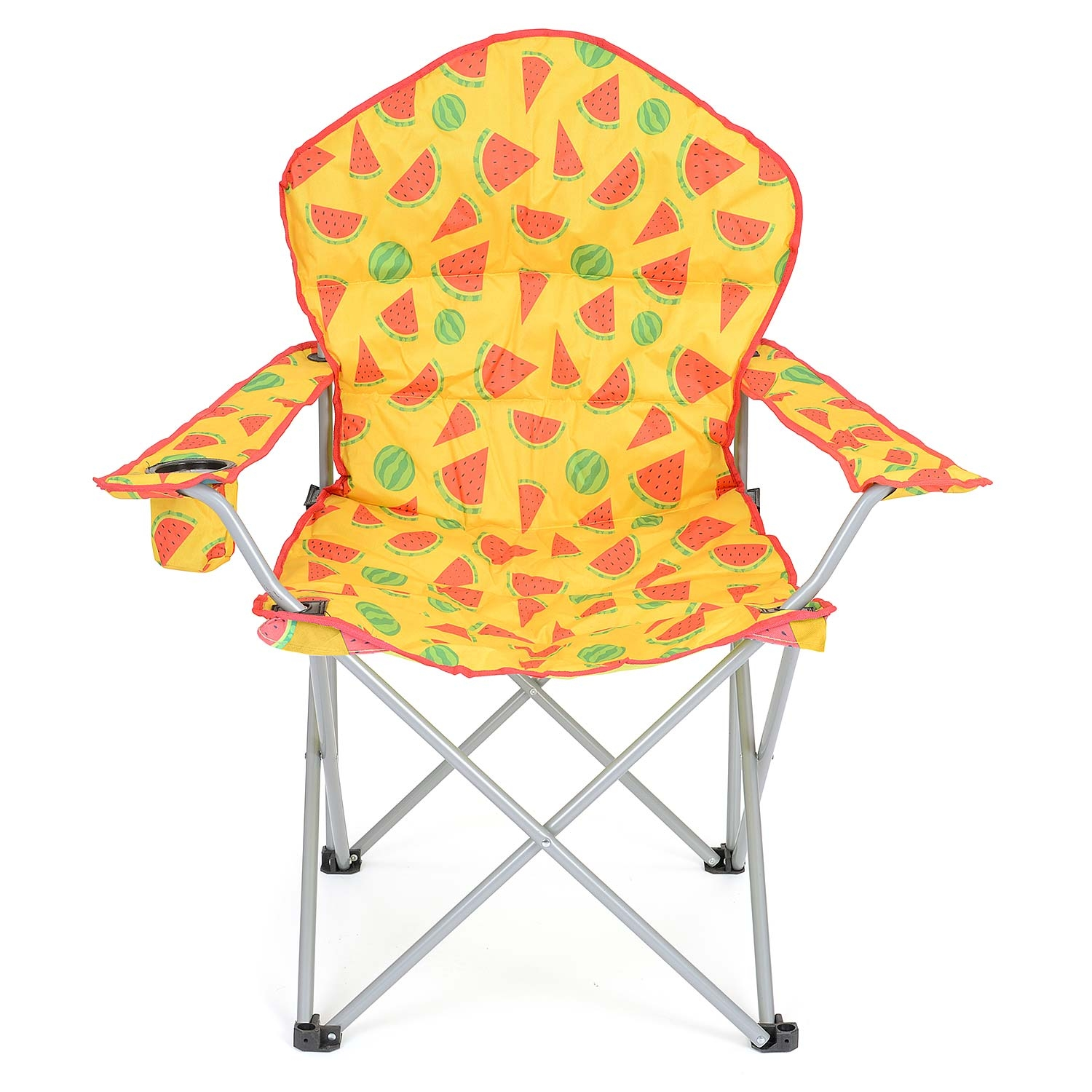 Trail Deluxe Watermelon Camping Chair - Yellow