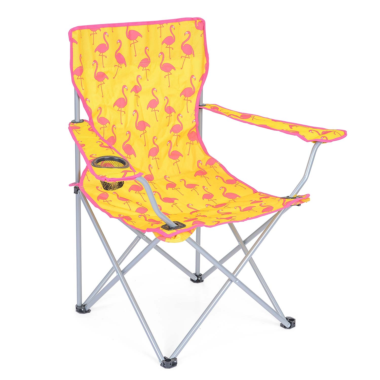 Flamingo Camping Chair - Yellow
