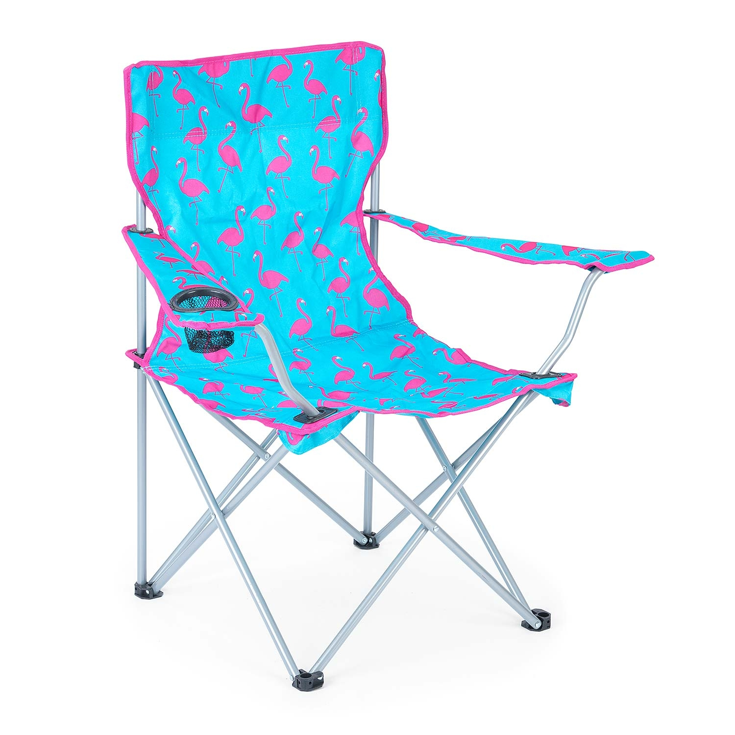 Flamingo Camping Chair - Blue