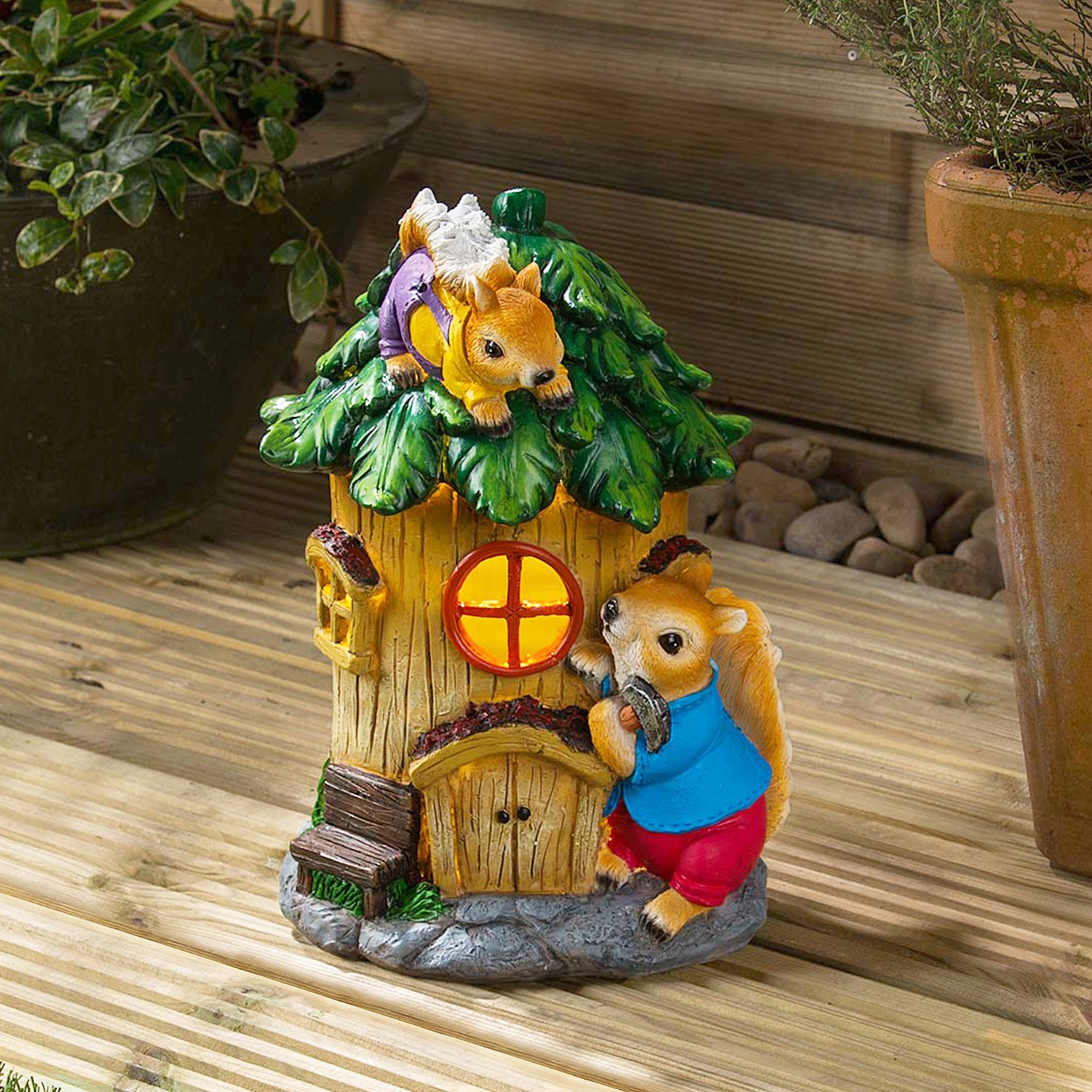 Image of Christow Solar Powered Squirrel House