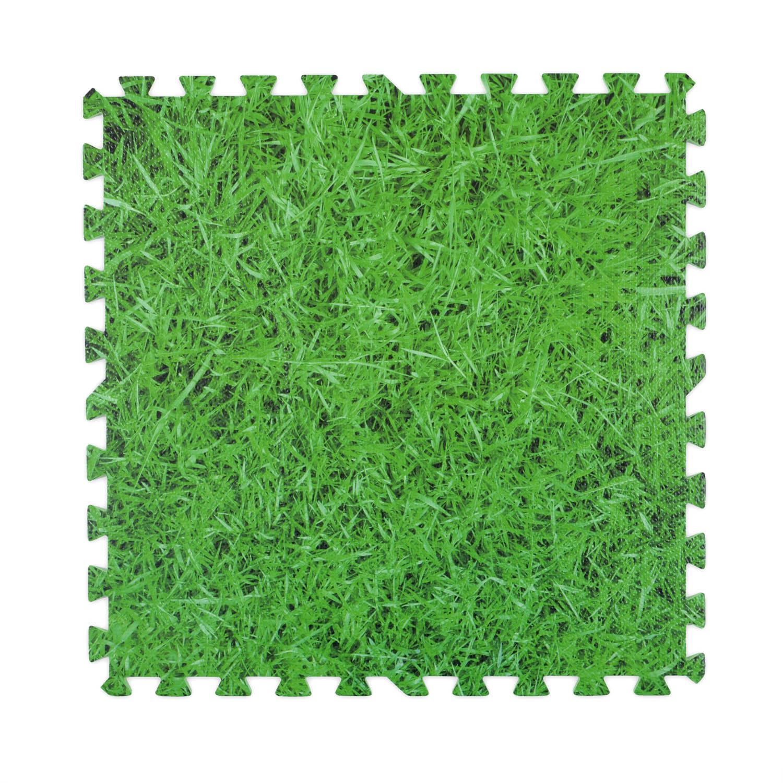 Image of Christow Grass Foam Floor Mats - 8 Mats