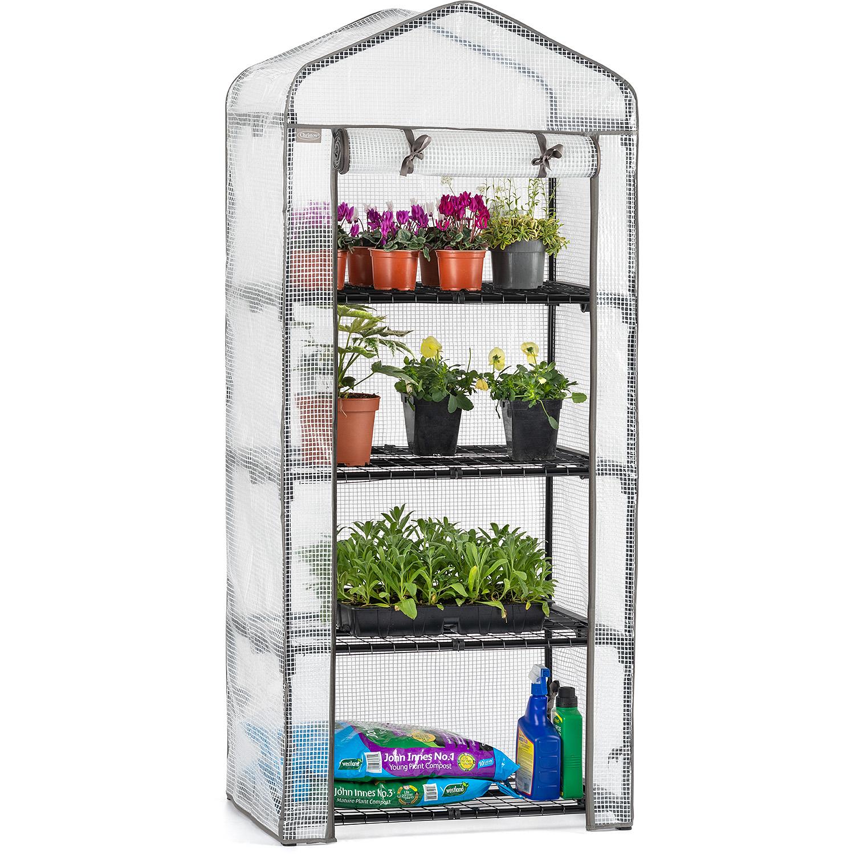 Image of 4 Tier Mini Greenhouse - PE