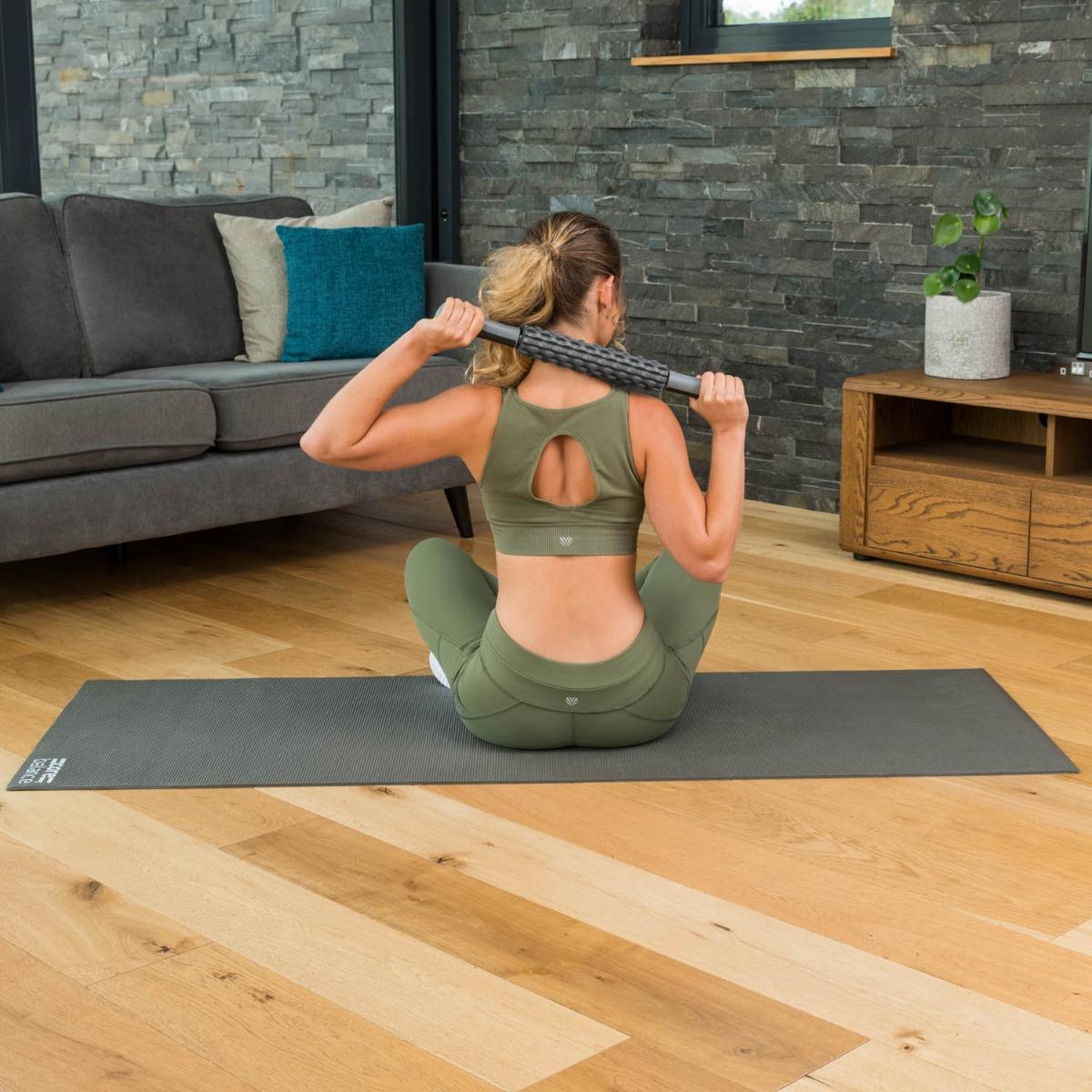 Muscle-Massage-Stick-Roller-Deep-Tissue-Trigger-Point-Foam-Massager-Core-Balance thumbnail 17