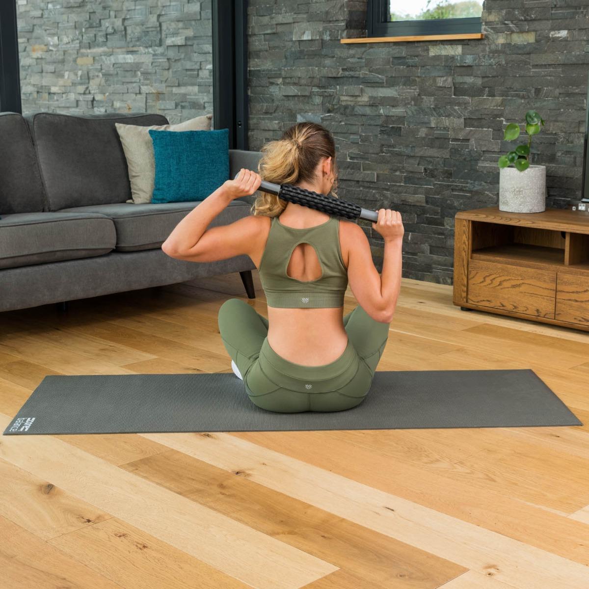 Muscle-Massage-Stick-Roller-Deep-Tissue-Trigger-Point-Foam-Massager-Core-Balance thumbnail 10