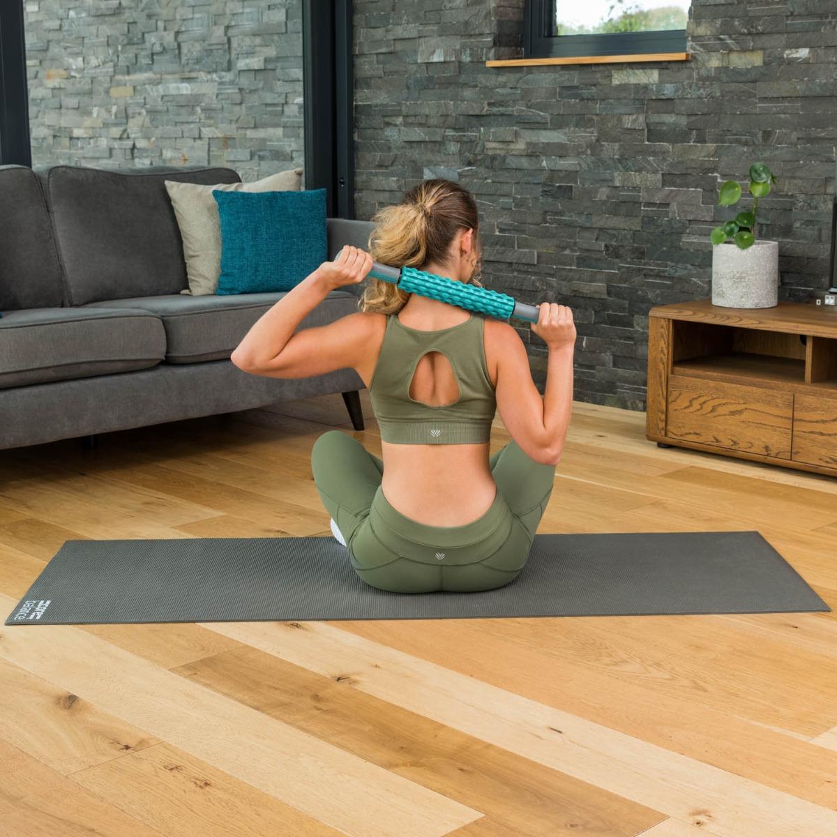 Muscle-Massage-Stick-Roller-Deep-Tissue-Trigger-Point-Foam-Massager-Core-Balance thumbnail 37