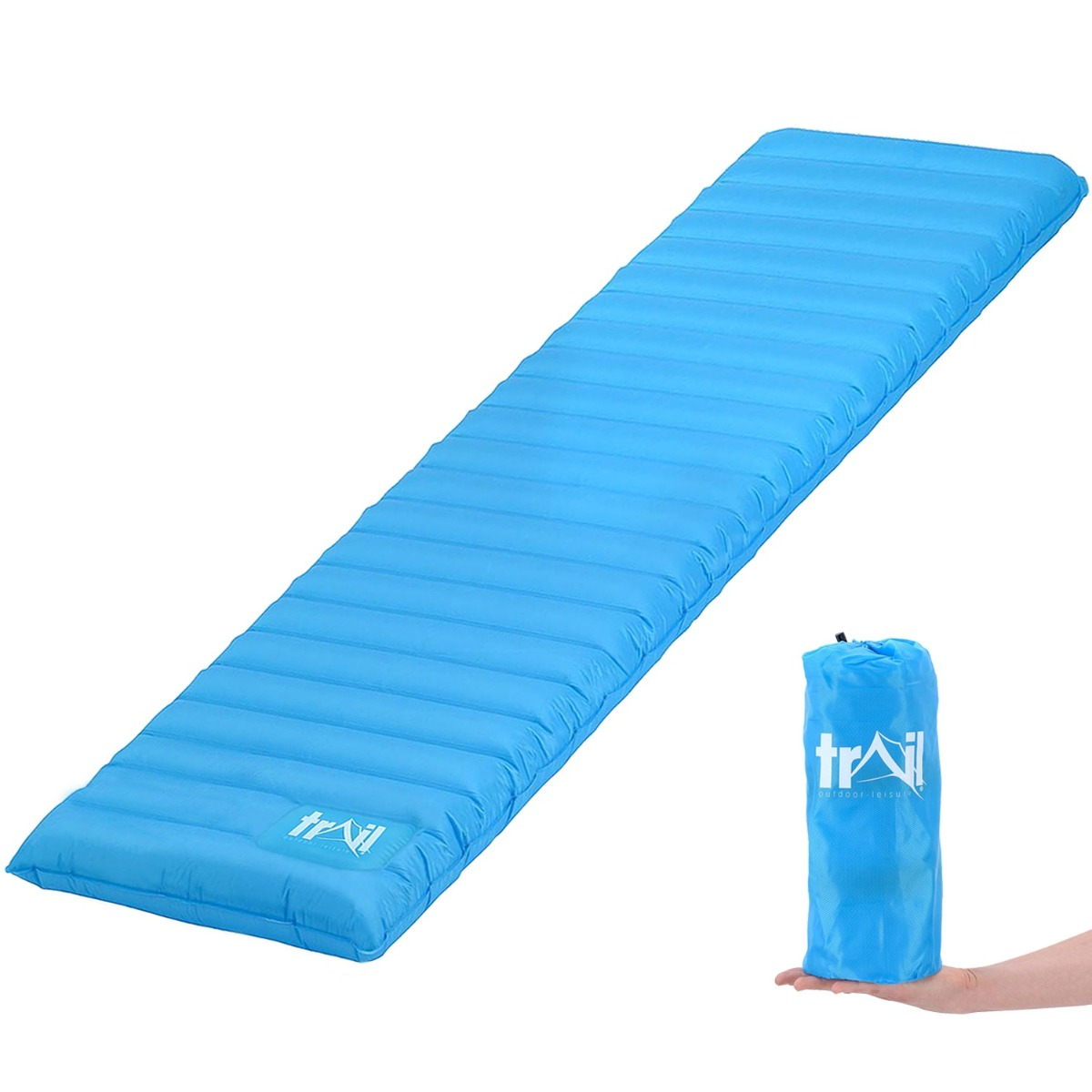 Compact Single Camping Mat - Blue