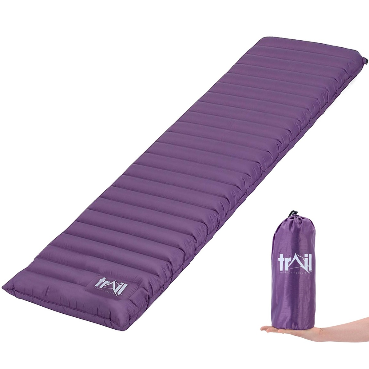 Compact Single Camping Mat - Purple